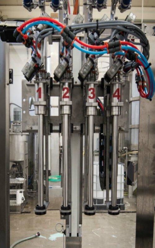 Macchine per Imbottigliamento Custom riempitrice cpefoodtech